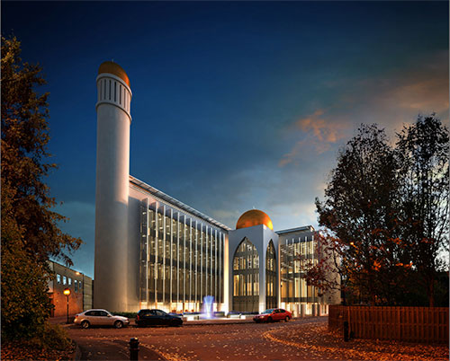 New Middle Eastern Style Mosque for 3,000 Worshippers
