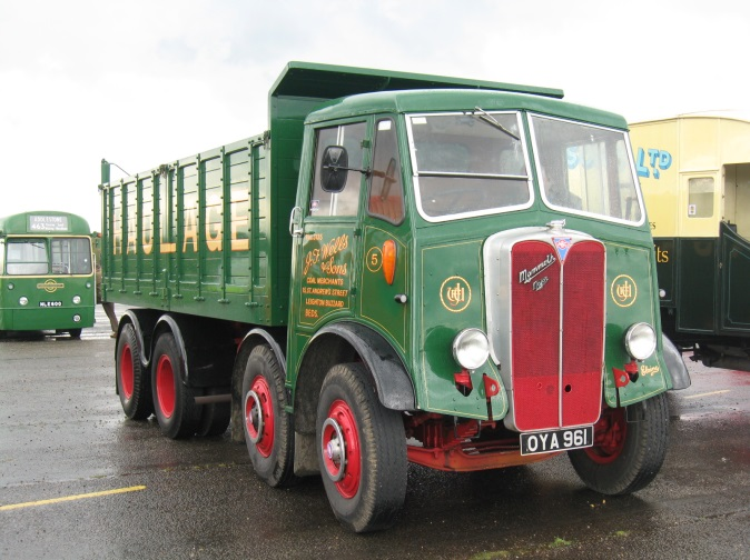 An AEC Mammoth lorry