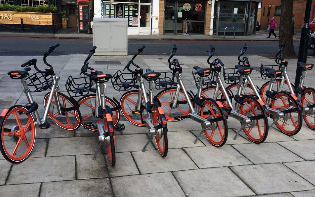 Mobikes come to West Ealing