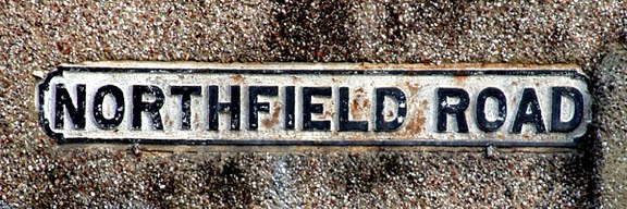 Street sign for Norhfield Road