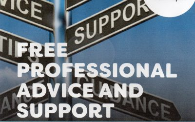 Free advice service every Wednesdsay 10am-2pm at Lido Centre