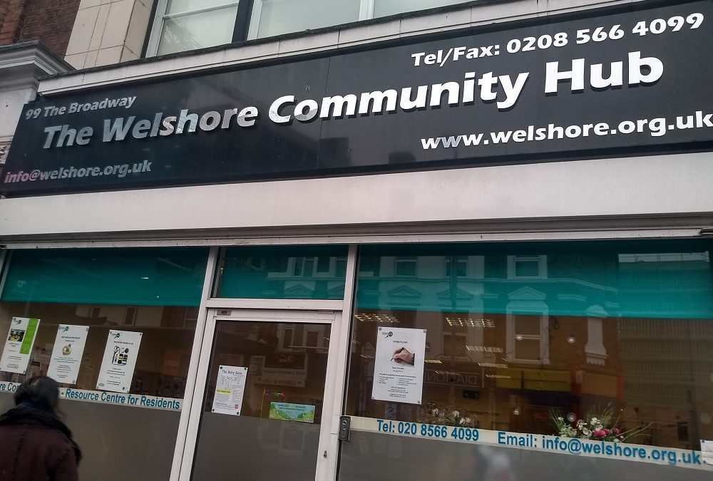 The Welshore Community Hub: A vital lifeline based in West Ealing