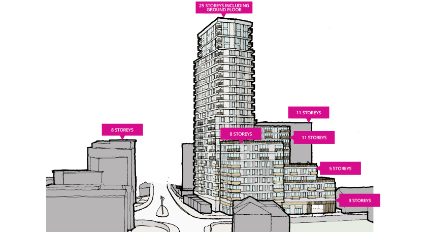 25 storey tower proposed opposite West Ealing station
