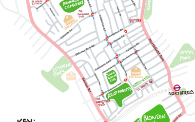 Low Traffic Neighbourhood coming to West Ealing late August